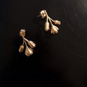 Madewell Rose Flower Earrings